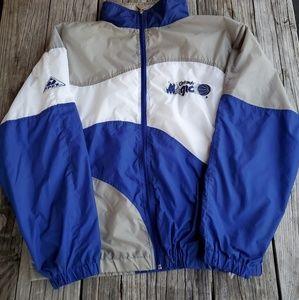 Vtg 90s Orlando Magic Apex Light Jacket size Large